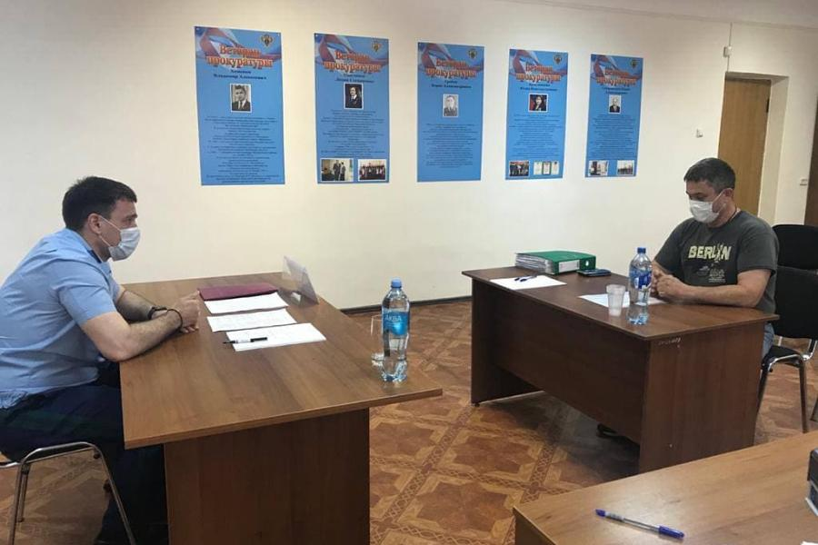 Прокурор Тамбовской области провел приём граждан