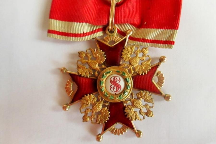Сергей Левандовский удостоился звания кавалера ордена Святого Станислава