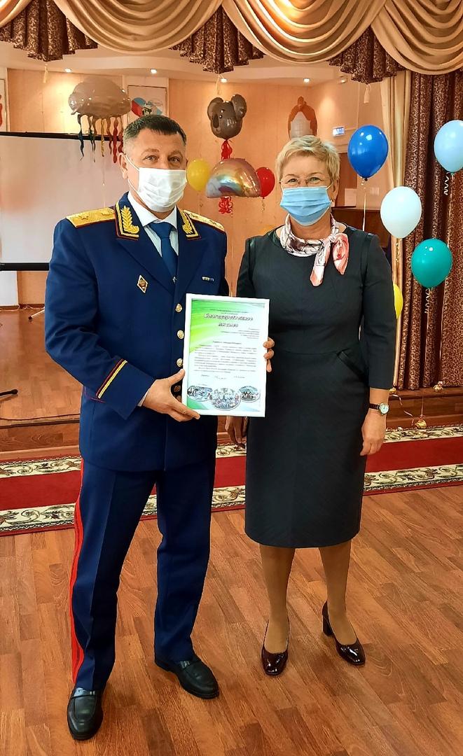 Сотрудники Следственного комитета посетили детский дом имени Луначарского