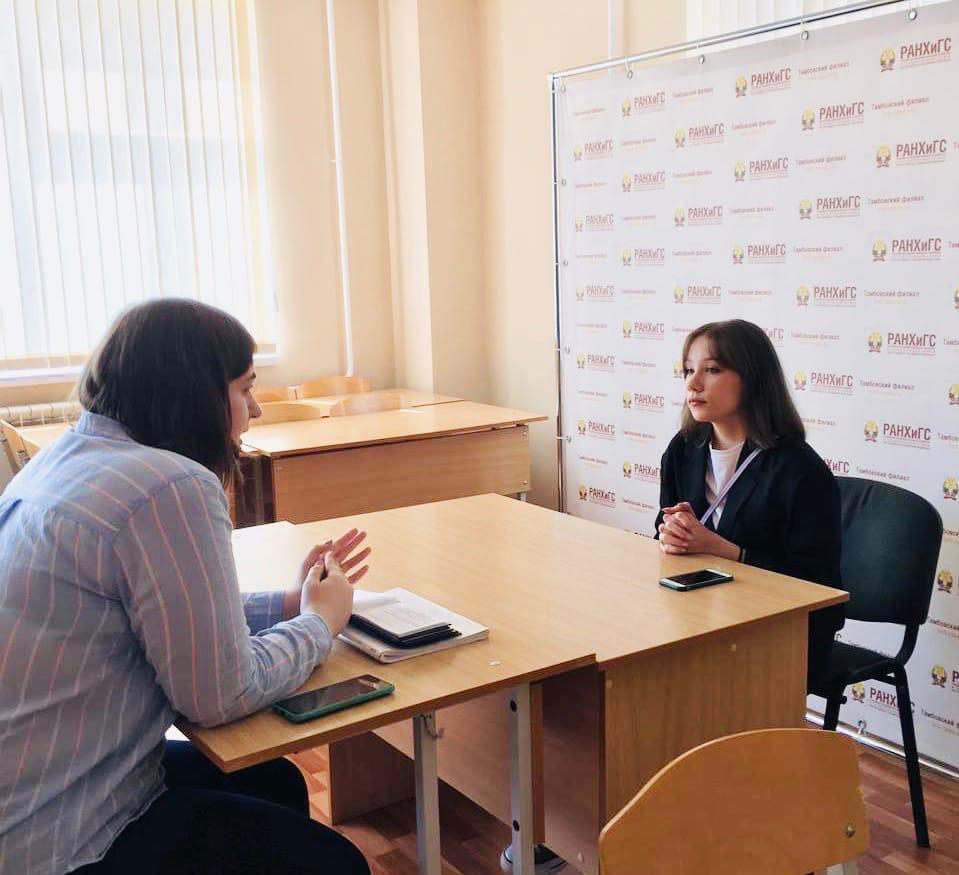 Студенты Тамбовского филиала РАНХиГС подготовили и защитили проект на иностранном языке