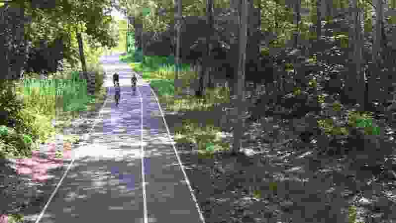 Тамбовчане просят власти заасфальтировать пятикилометровую трассу в парке «Дружба»