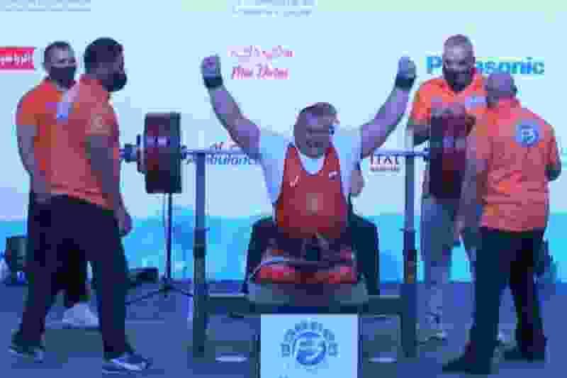 Тамбовчанин стал победителем Кубка мира по парапауэрлифтингу