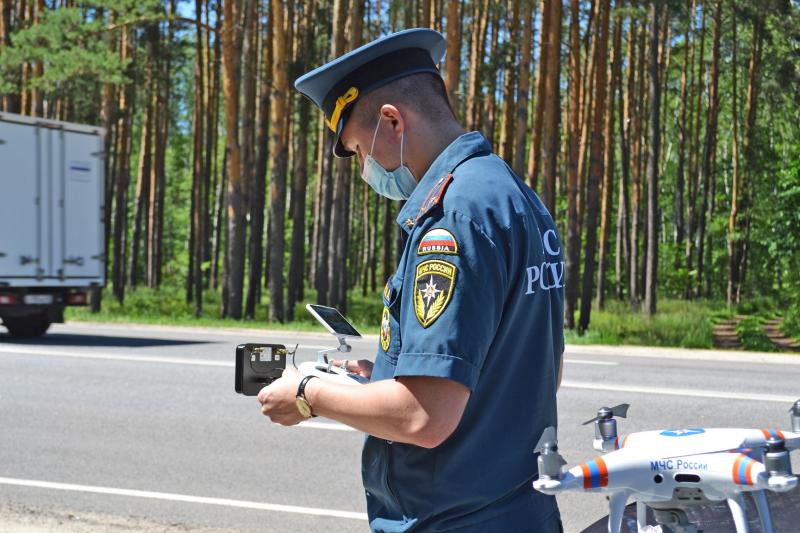 Тамбовские автоинспекторы начали применять квадрокоптеры