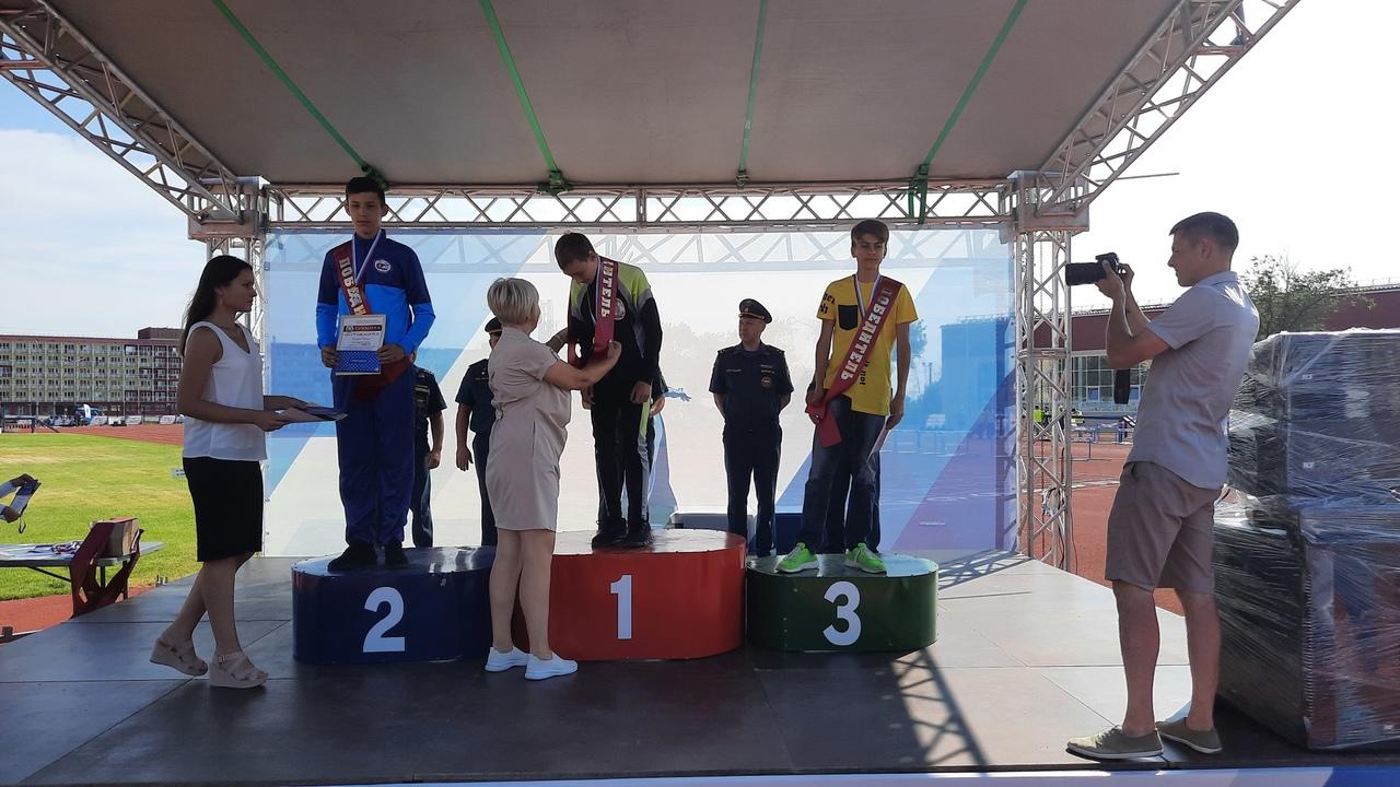 Тамбовские спортсмены стали победителями межрегиональных соревнований МЧС