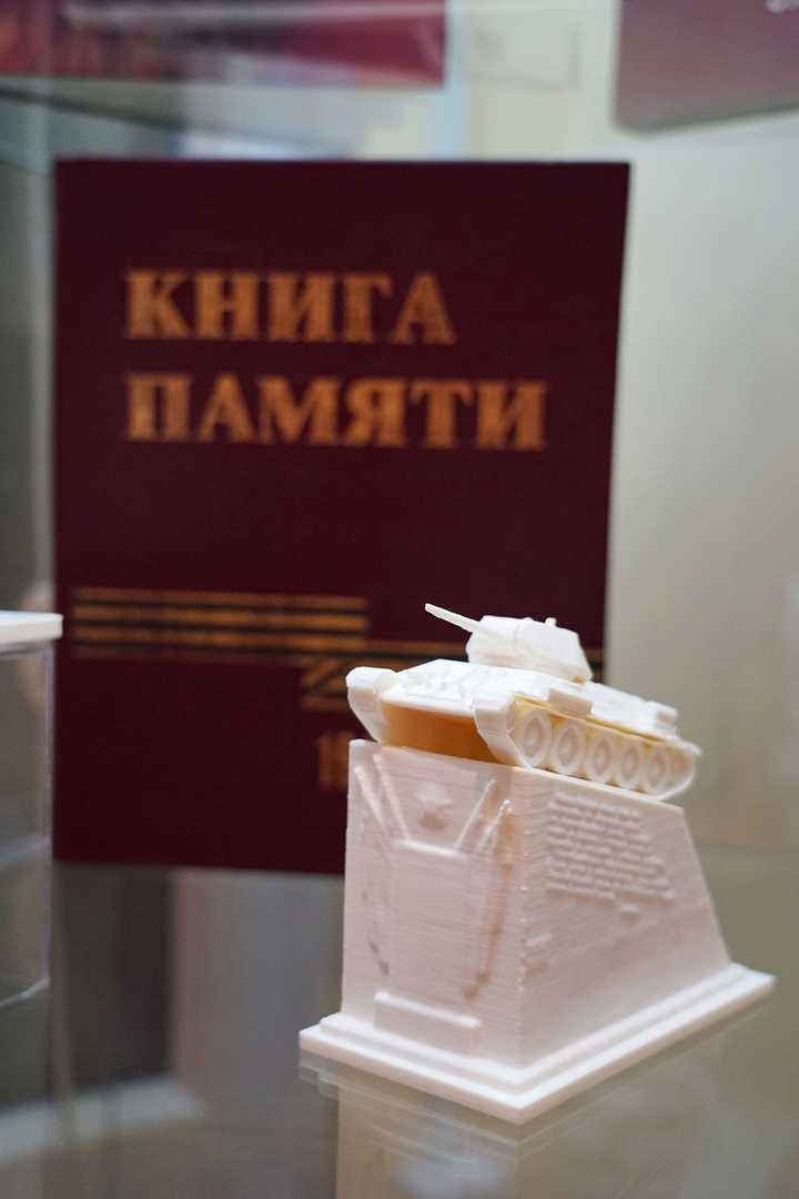 ТГУ открыл выставку 3D-моделей главных памятников Тамбова