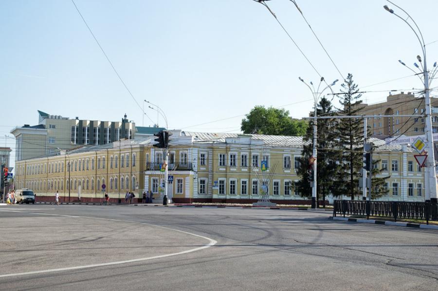 Установлены сроки проведения ремонта здания бывшего военкомата в центре Тамбова