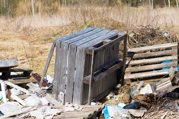 Уваровские леса загрязняются отходами производства