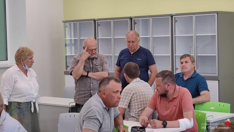 В Котовске идет завершающий этап строительства экотехношколы