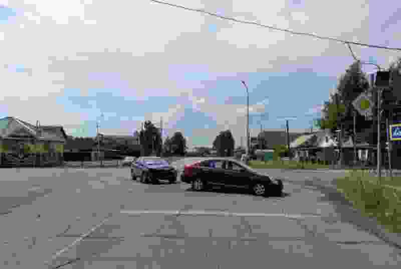 В Рассказове неработающий светофор стал причиной ДТП