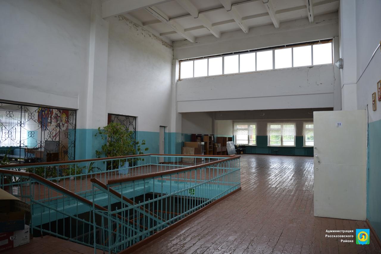 В Рассказовском районе капитально отремонтируют филиал Верхнеспасской школы