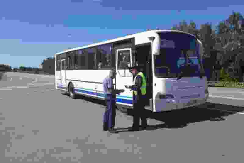 В регионе стартовала массовая проверка водителей автобусов