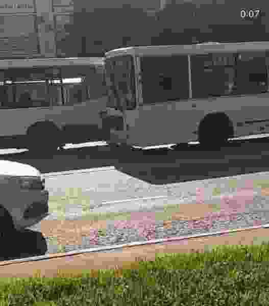 В Тамбове из-за столкновения двух автобусов пострадало двое пассажиров