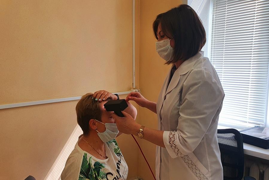 В Тамбове медики провели обследование жителей по раннему выявлению меланомы