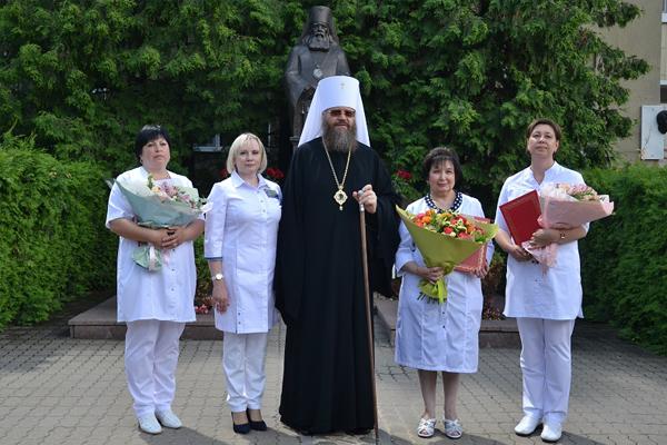 В Тамбове медработникам вручили премию Архиепископа Луки