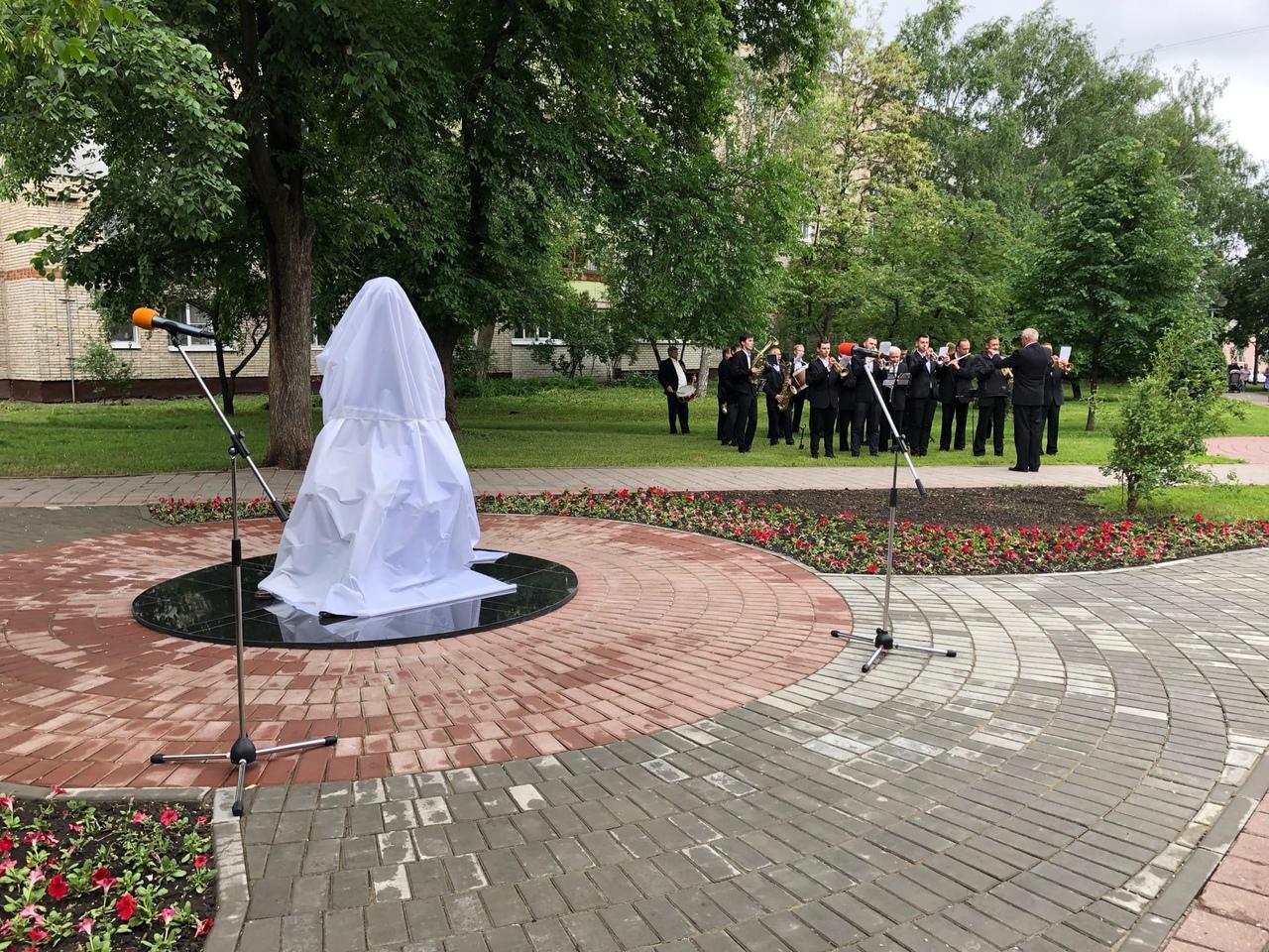 В Тамбове открыли памятник заслуженному учителю России Николаю Рябову