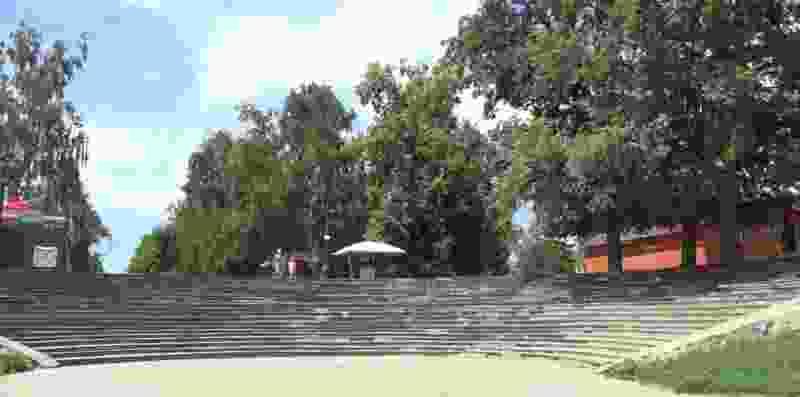 В Тамбове планируют отремонтировать спуск-амфитеатр в Парке культуры