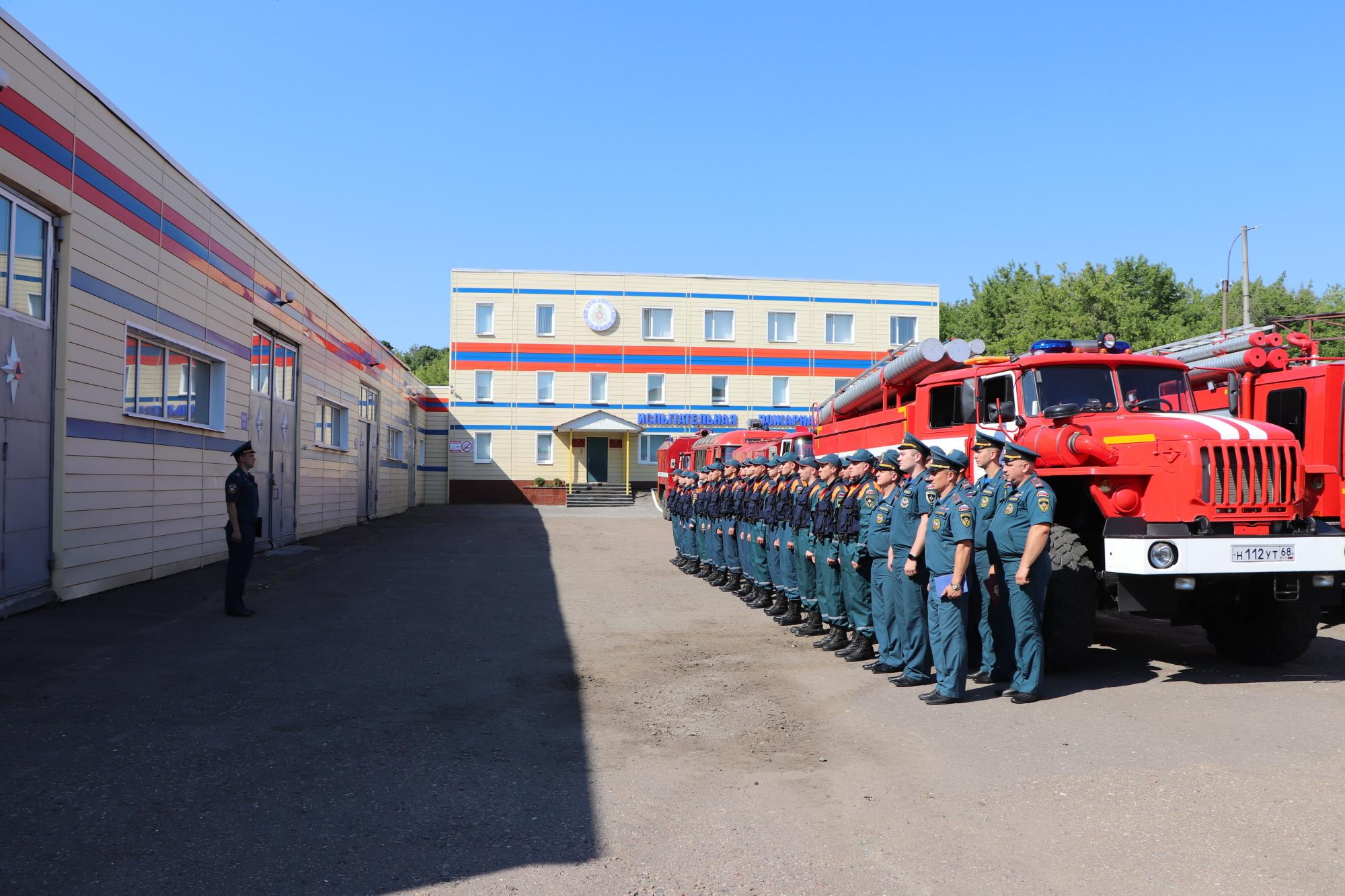 В Тамбове прошла масштабная тренировка по ликвидации происшествий на водных объектах