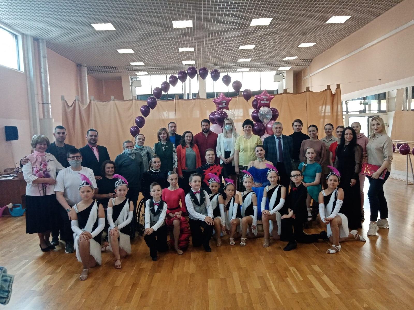 В Тамбове прошёл отчётный концерт спортсменов на колясках