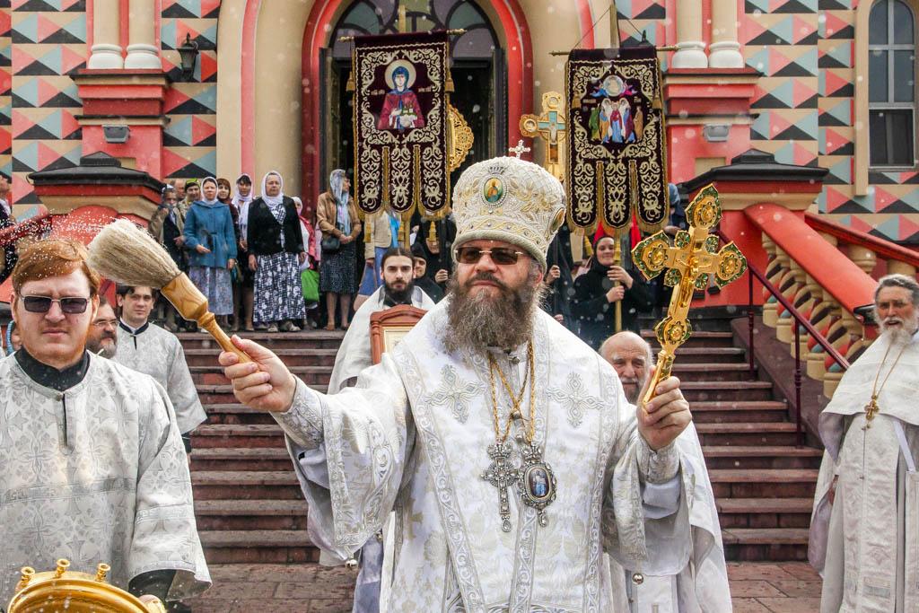 В Тамбове совершили крестный ход в честь праздника Вознесения Господня