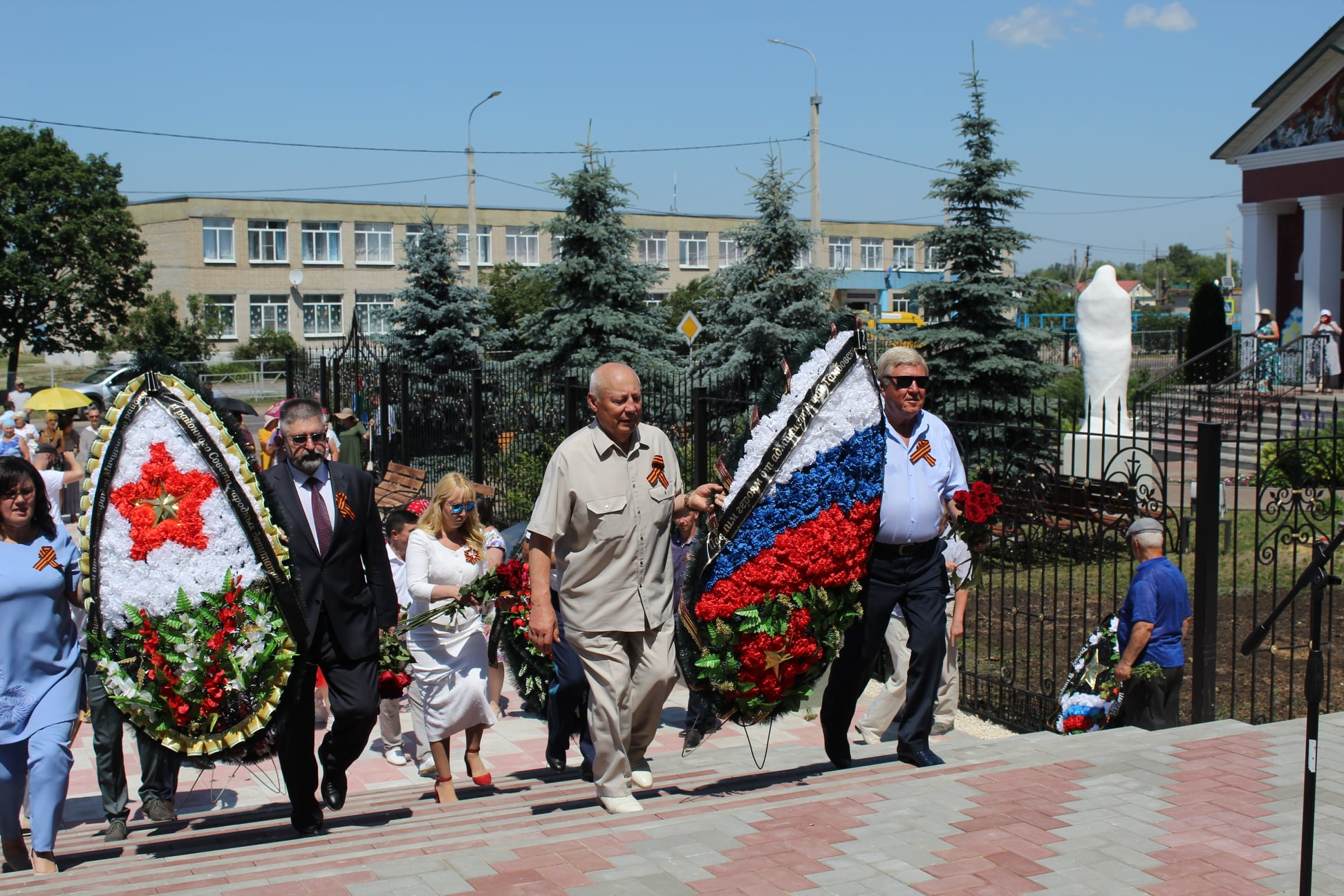 В Тамбовской области прошла церемония открытия нового мемориального комплекса