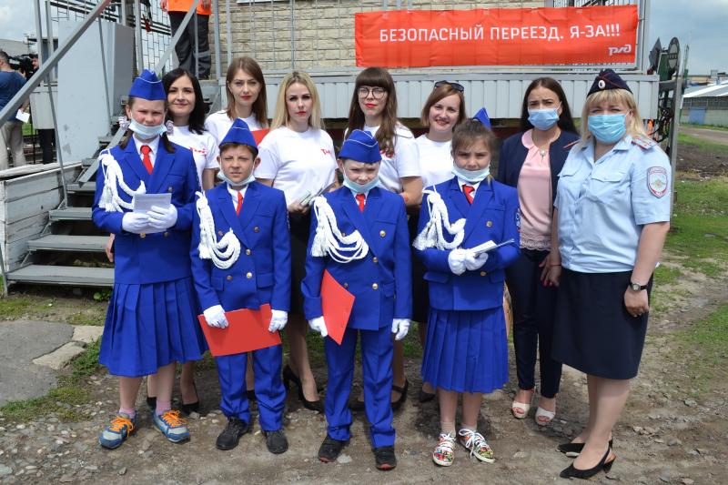 В Тамбовской области провели информационные мероприятия на железнодорожных переездах