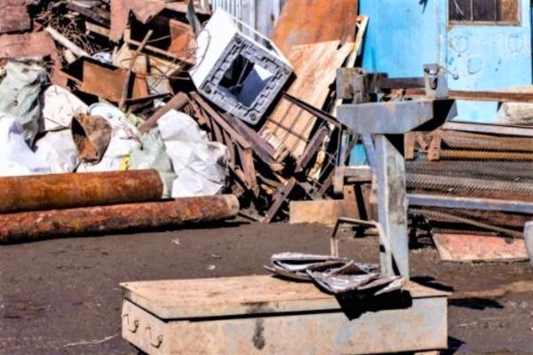 В Тамбовской области работал незаконный пункт приёма металлолома