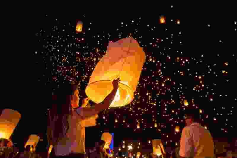 В Тамбовской области за запуск «небесных фонариков» могут оштрафовать