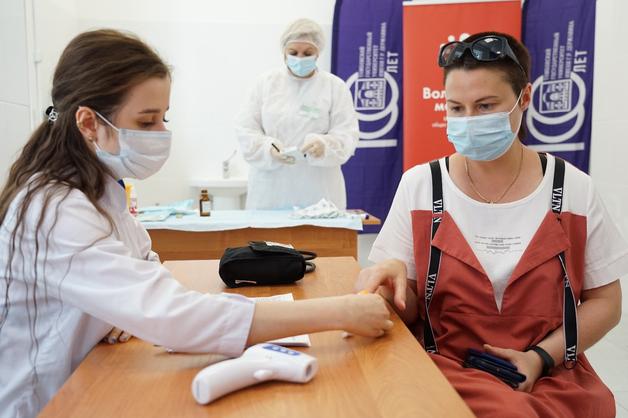В ТГУ открылся первый в регионе «Мобильный пункт вакцинации против Covid-19»