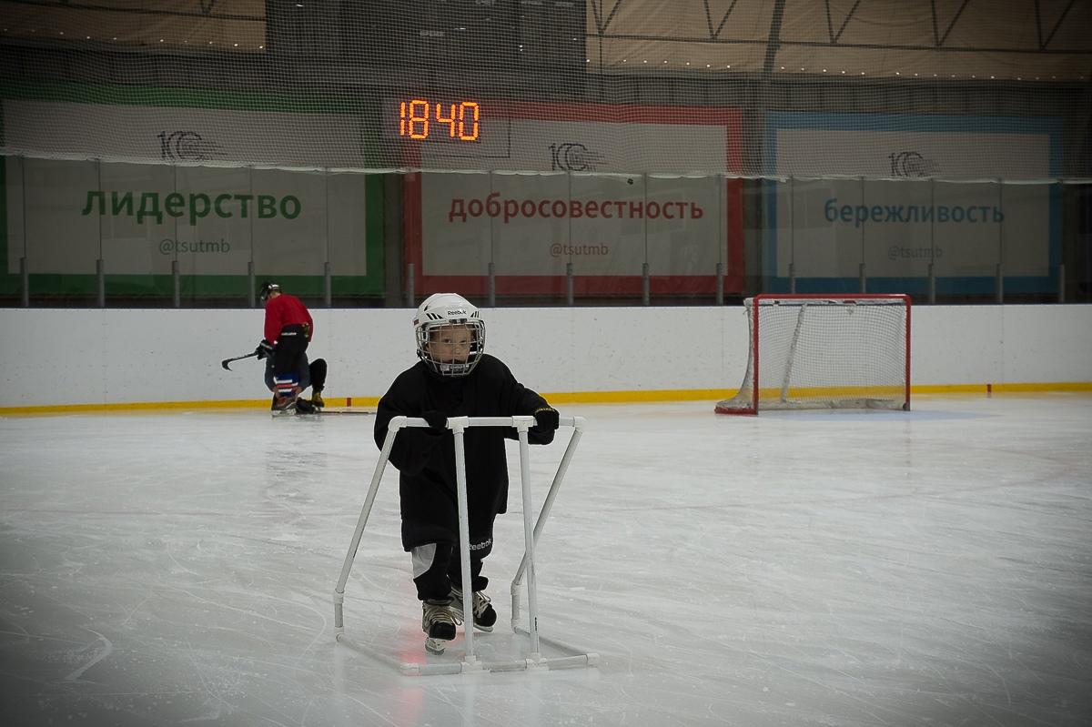 Юные хоккеисты Котовска могут тренироваться на льду круглый год