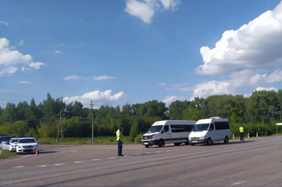 Более 90 водителей в Тамбовской области оштрафованы за выезд на встречную полосу