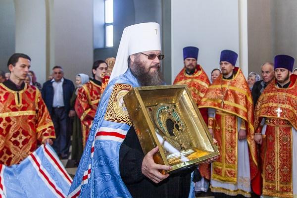 Чудотворный образ Казанской Вышенской иконы Божией Матери перевезут в Мичуринск