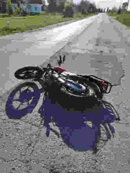 Два мотоциклиста стали участниками ДТП в Тамбовской области, один погиб