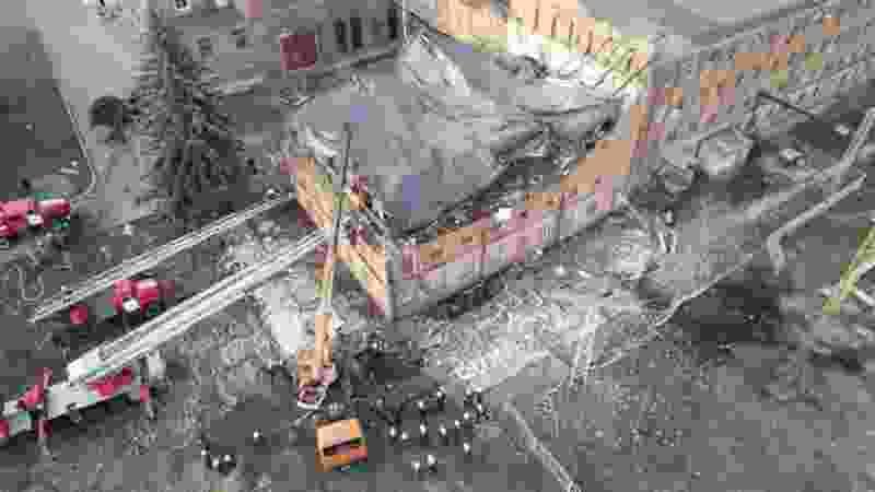 Крыша корпуса Тамбовской ТЭЦ обвалилась из-за нарушений в ходе строительства