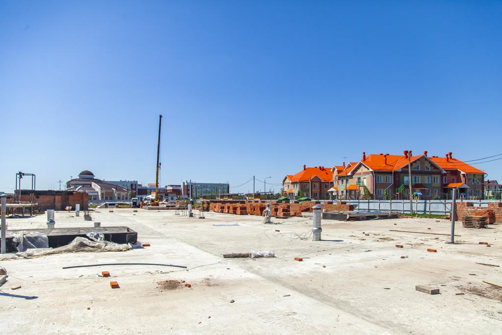 На севере Тамбова продолжается строительство храма