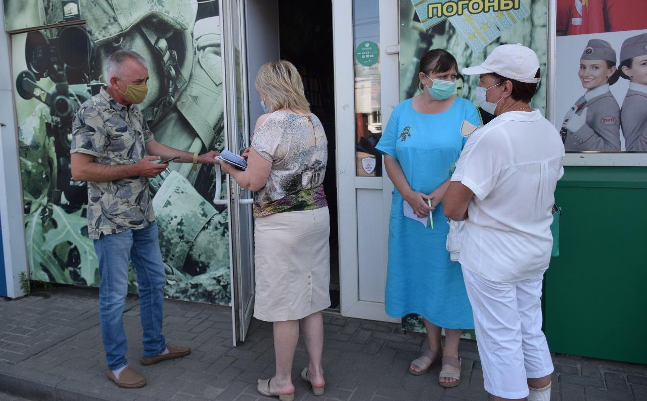 На улице Базарной выявили множество нарушений правил благоустройства