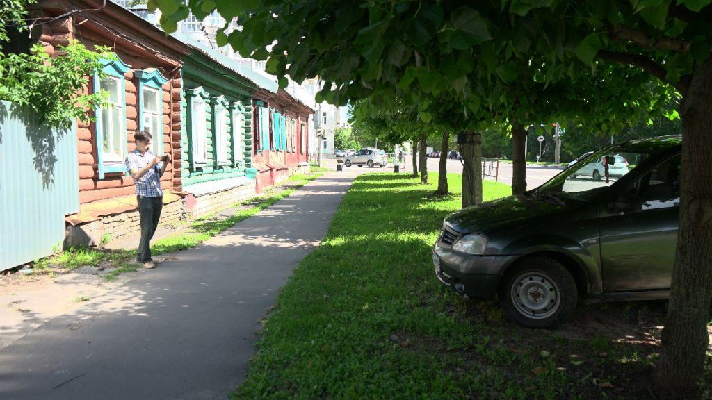 Одна из улиц Тамбова подверглась комплексной проверке