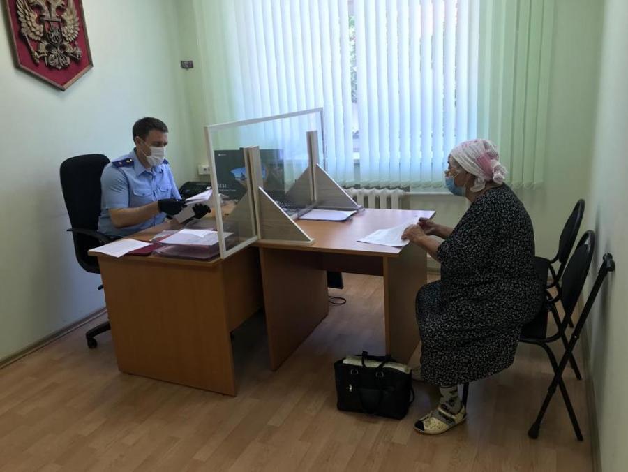 Прокурор области провел личные встречи с тамбовчанами