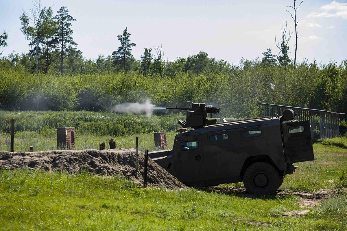 Спецназ провёл масштабные учения в Тамбовской области