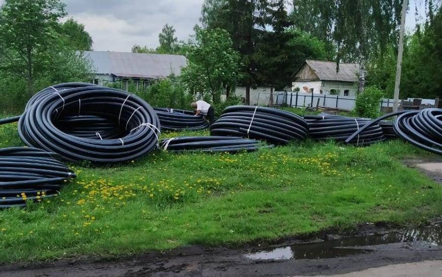 Спустя 11 лет в Первомайском районе активно строят водопроводные системы