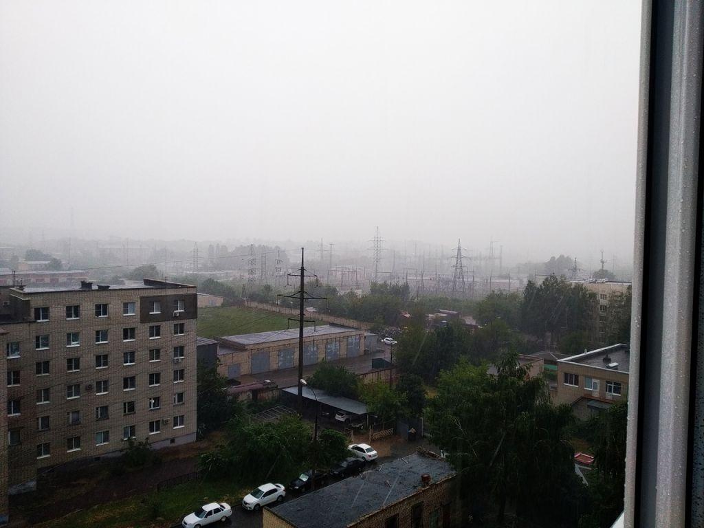 Тамбов утопает в дождевой воде