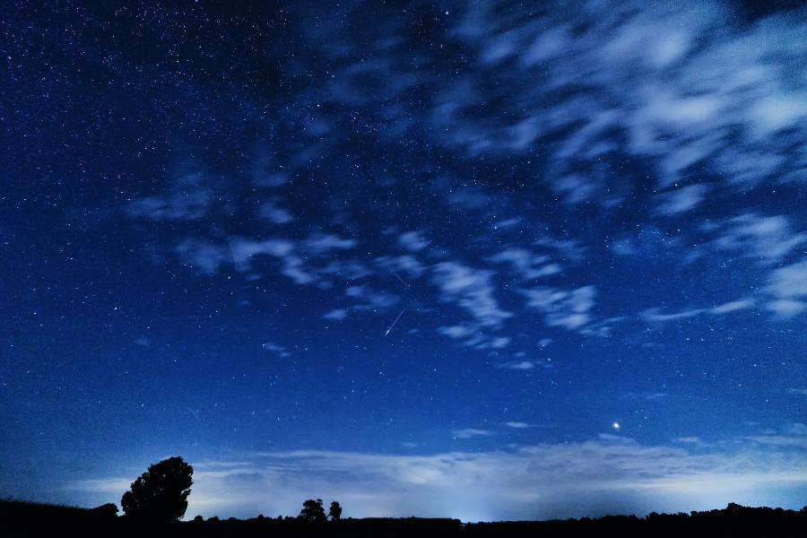 Тамбовчане могут наблюдать звездопад Персеиды