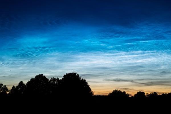 Тамбовчане весь июль могут наблюдать серебристые облака