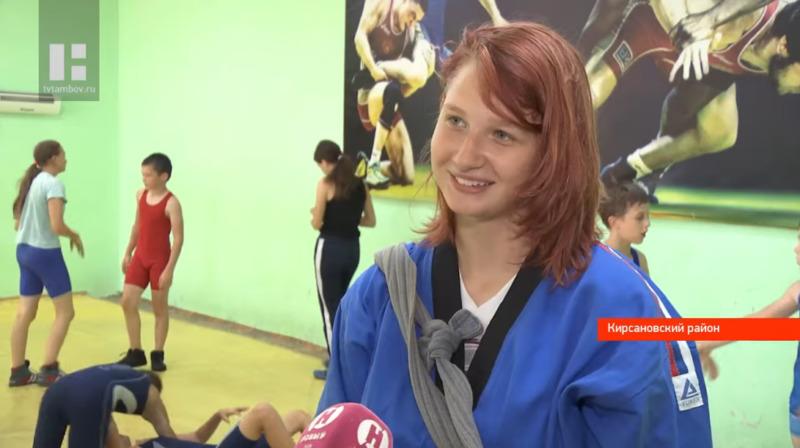 Тамбовчанка представит регион на Чемпионате мира по борьбе на поясах