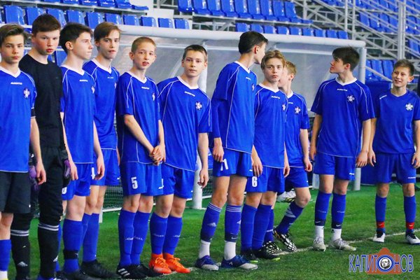 """Тамбовская """"Академия футбола"""" одержала вторую победу в Липецкой области"""