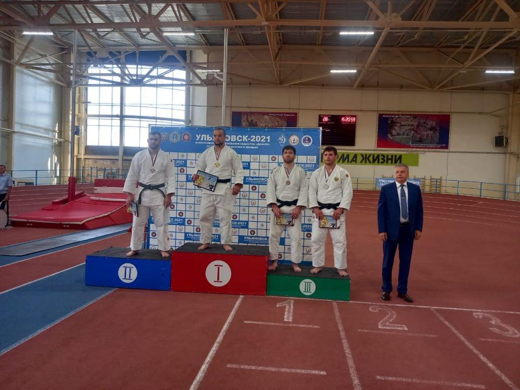Тамбовские дзюдоисты завоевали медали на всероссийских соревнованиях