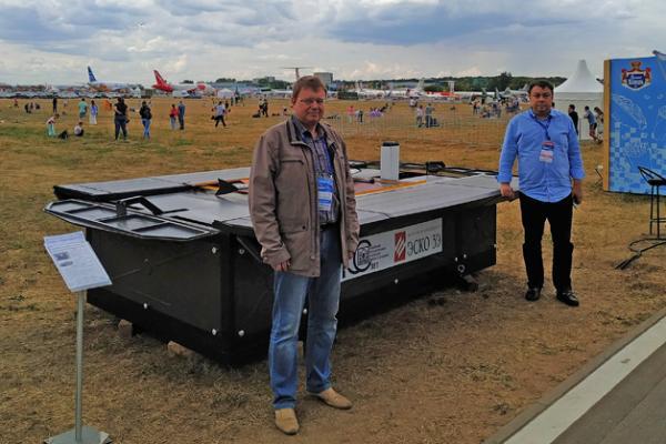 ТГУ представил разработки на Международном авиационно-космическом салоне