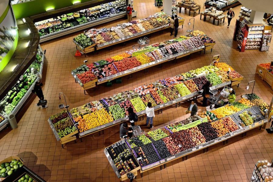 Цены на продукты в Тамбовской области выросли за пять месяцев на 4,7%
