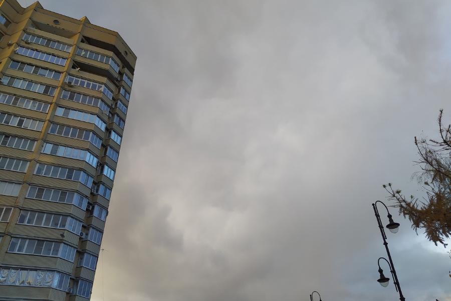 В ближайшие часы в Тамбовской области ожидается гроза и сильный ветер
