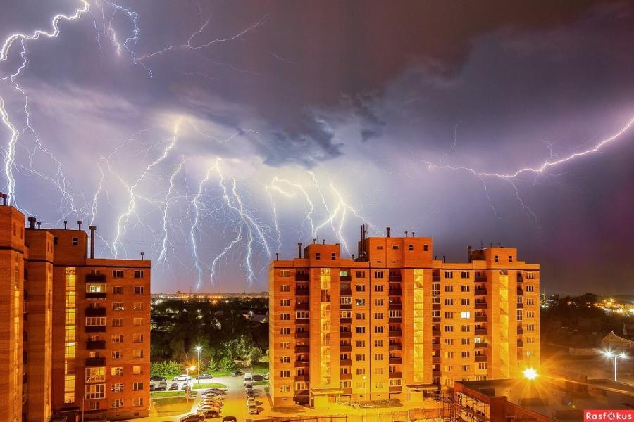 В ближайшие несколько дней в Тамбовской области ожидаются град и грозы