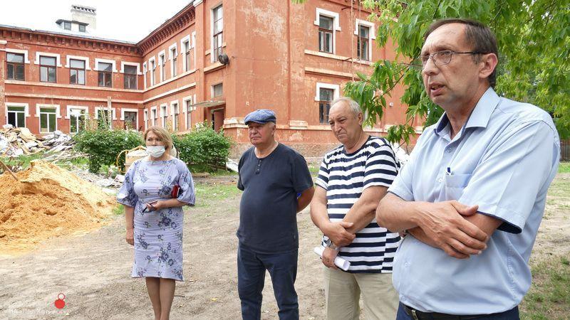 В Котовске провели рабочее совещание по капремонту детской школы искусств